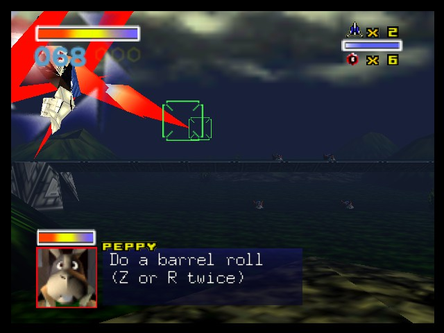 Star Fox 64 - Do a barrel roll!!! (D or C twice) - User Screenshot