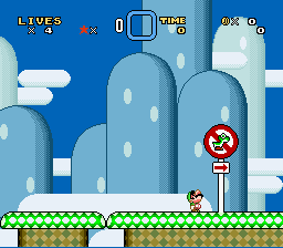 Super Mario Wacky Worlds - Star World (demo) - No Yoshi here.... - User Screenshot