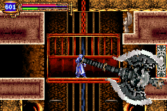 Castlevania - Aria of Sorrow - Kill Red Minotaurs to get this axe - User Screenshot