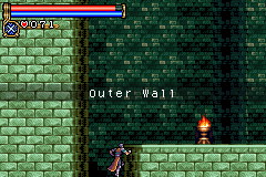 Castlevania - Circle of the Moon - Location Outer Wall -  - User Screenshot