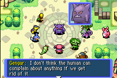 Pokemon Mystery Dungeon - Red Rescue Team - Cut-Scene  - If you say me, I WILL FLIP YOU THE BIRD! - User Screenshot