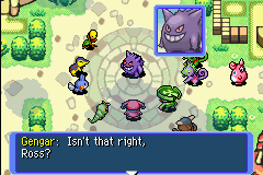 Pokemon Mystery Dungeon - Red Rescue Team - Cut-Scene  - Um, Que? Me speak no ingles. - User Screenshot