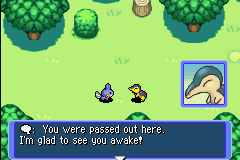 Pokemon Mystery Dungeon - Red Rescue Team - Introduction  - I should not have had that 6 pack of Colt 45 - User Screenshot