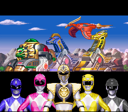 Mighty Morphin Power Rangers - Fighting Edition - Mega TigerZord - User Screenshot
