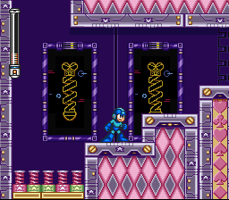 Mega Man VII - Level Spring man - Do you see what i see? - User Screenshot