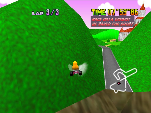 Mario Kart 64 - Oh crap. - User Screenshot