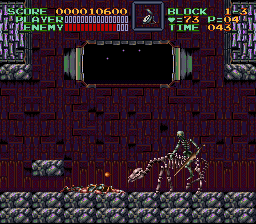 Super Castlevania IV - WHY! DID! YOU DO! THAT! TO ME?! - User Screenshot