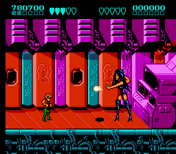 Battletoads & Double Dragon - The Ultimate Team - Battle  - The Dark Queen Final Boss - User Screenshot