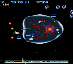Gradius III - Battle  - Bubble Virus Battle - User Screenshot