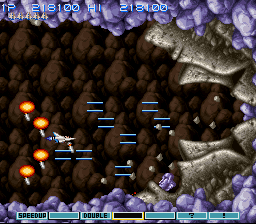 Gradius III - Battle  - Stonehedge Battle - User Screenshot