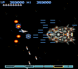 Gradius III - Battle  - Spaceship Gauntlet Battle #2 - User Screenshot