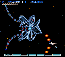 Gradius III - Battle  - Spaceship Gauntlet Battle #3 - User Screenshot