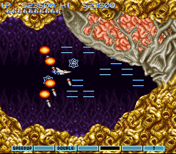 Gradius III - Battle  - Final Battle - User Screenshot