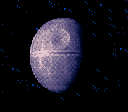 Super Star Wars - Ending  - Death Star about to explode - User Screenshot