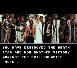 Super Star Wars - Ending  - Ending - User Screenshot