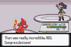Pokemon Light Platinum - Battle  - 1st gym badge :D - User Screenshot