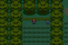 Pokemon Ash Gray (beta 2.5z) - green sky :S - User Screenshot