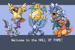 Pokemon Leaf Green - Ending  - Flying-type champion! - User Screenshot