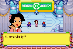 Medabots - Rokusho Version - Two tanks, a bird, and a nurse.Hahahahahaha!! - User Screenshot