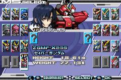 Mobile Suit Gundam Seed Battle Assault Gba Cheats