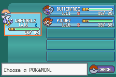 Pokemon Fire Red - Character Profile pokemon - before veridan forest, before brock - User Screenshot