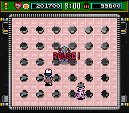 Super Bomberman 3 - final boss - User Screenshot