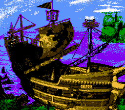 Super Donkey Kong Country 2 - mapa - User Screenshot