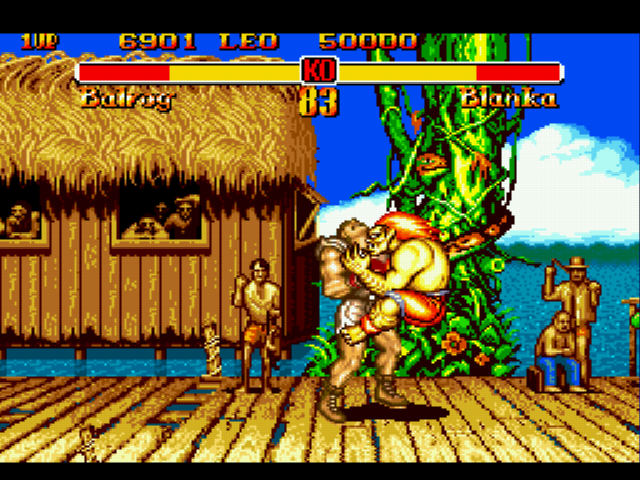 Super Street Fighter II - maldito y sensual blanka jajajajaja - User Screenshot