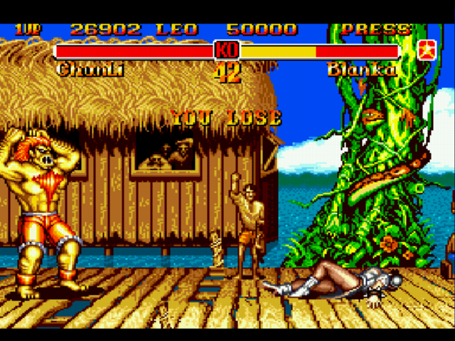 Super Street Fighter II - mierda - User Screenshot