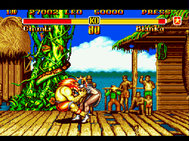 Super Street Fighter II - violin - User Screenshot