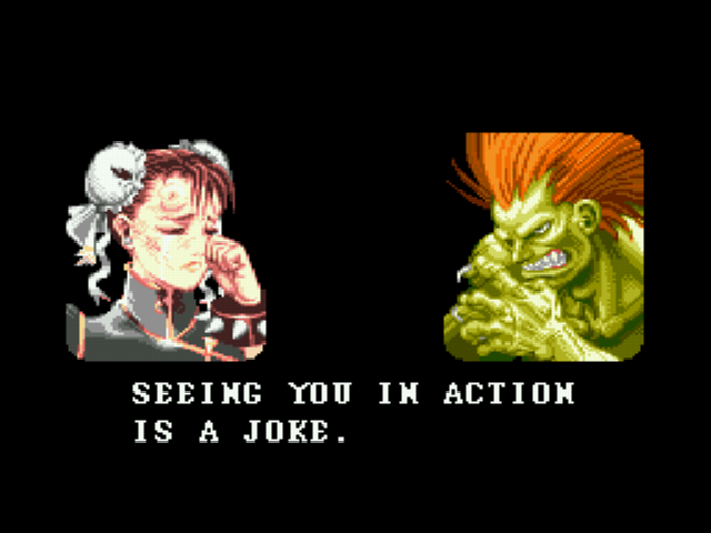 Super Street Fighter II - JOE PUTA - User Screenshot