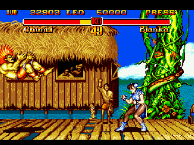 Super Street Fighter II - se murio - User Screenshot