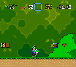 Super Mario World - Level Yoshi
