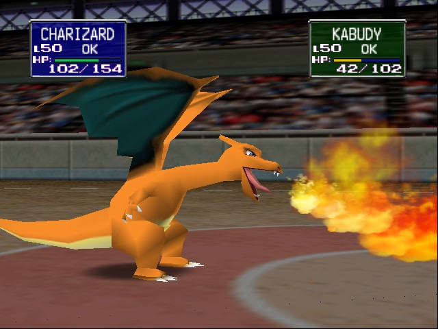 Pokemon Stadium 2 - Charizard! - User Screenshot