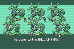 Pokemon emerald ending army of raquazas user screenshot