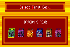 Yu-Gi-Oh! - Ultimate Masters - World Championship Tourna - Misc deck select -  - User Screenshot