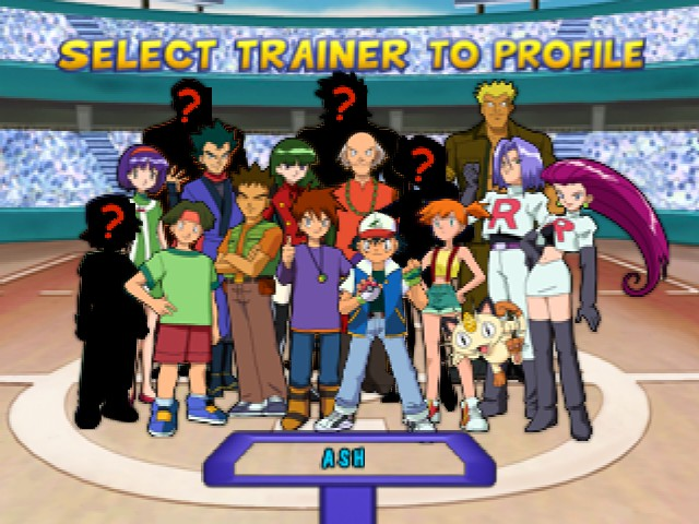 Pokemon Puzzle League - Character Select  -  - User Screenshot