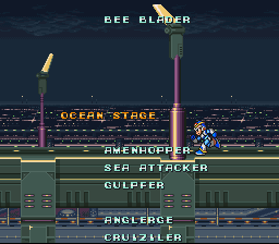 Mega Man X - Run X run back home as fast as you can!! - User Screenshot