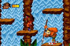 Crash Bandicoot - The Huge Adventure - Battle  - Tiny Tiger - User Screenshot