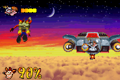 Crash Bandicoot - The Huge Adventure - Battle  - Dr. N. Gin - User Screenshot
