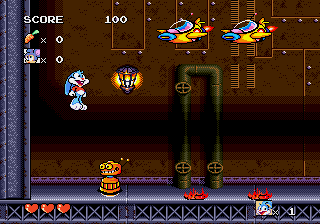 Tiny Toon Adventures - Busters Hidden Treasure - Level  - The Last Level - User Screenshot