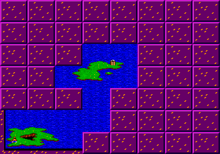 ToeJam & Earl - World Map  - Map to level 0 - User Screenshot