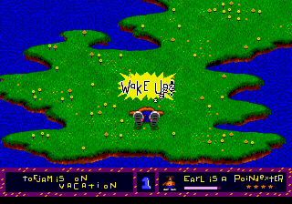 ToeJam & Earl - Level  - Wake up! - User Screenshot