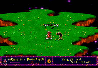 ToeJam & Earl - Level  - Boogie boogie boogie! - User Screenshot