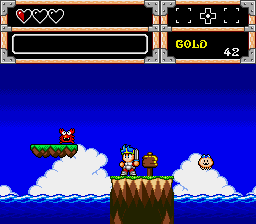 Wonder Boy in Monster World - Level  -  - User Screenshot