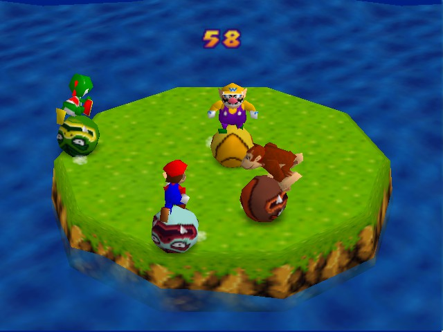 Mario Party - Bumper Balls,one of the best mini games - User Screenshot