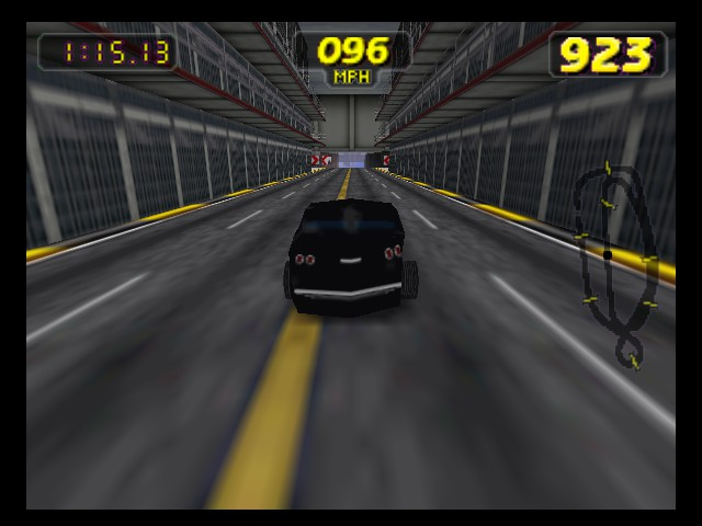Rush 2 - Extreme Racing USA - Level  - In Alcatraz,my favourite track - User Screenshot