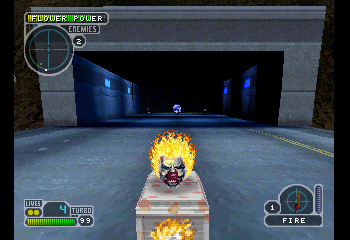Twisted Metal III - Level  - Playing as Sweet Tooth - User Screenshot