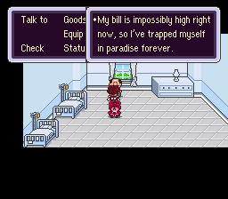 EarthBound Halloween Hack - Bad Fur Day Edition -  - User Screenshot