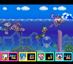 Tiny Toon Adventures - Wacky Sports Challenge - The only event i am good at - User Screenshot